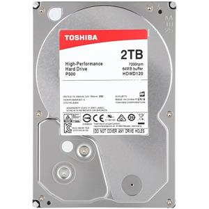TOSHIBA P300 HDWD120 Internal Hard Drive 2TB
